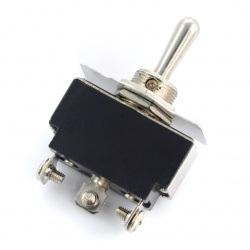 Przełącznik dźwigniowy ON-OFF-ON KN3(B)-123 250V/6A - monostabilny