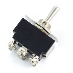Przełącznik dźwigniowy ON-OFF-ON KN3(B)-223 250V/6A - monostabilny
