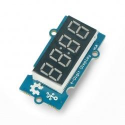 Grove - Moduł 4x wyświetlacz 7-segmentowy - interfejs cyfrowy