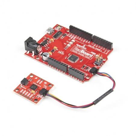ADXL313 - 3-osiowy akcelerometr I2C Qwiic - SparkFun SEN-17241