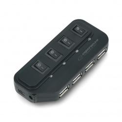 Hub USB 2.0 EA-127 4-porty...
