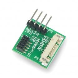 Adapter IDC 10pin 1,27mm -...