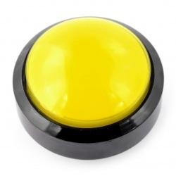 Push Button 6cm - żółty