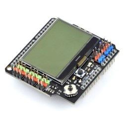 Arduino Shield - klawiatury i wyświetlacze