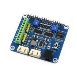 Raspberry Pi Hat - kontrolery silników i serw