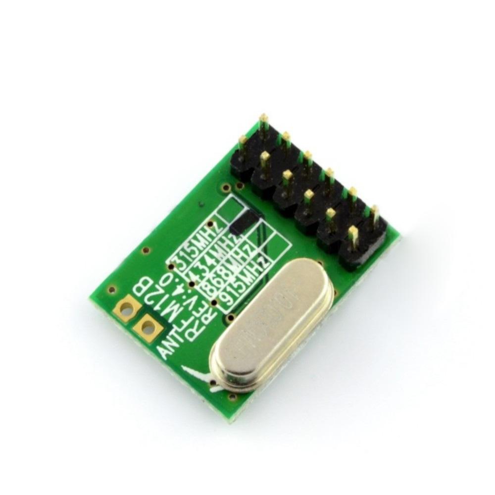 Bezprzewodowy moduł radiowy RFM12B