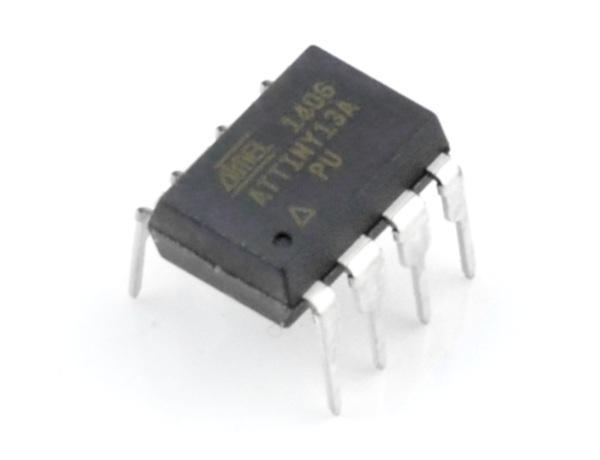 mikrokontroler AVR - ATiny 13A-PU