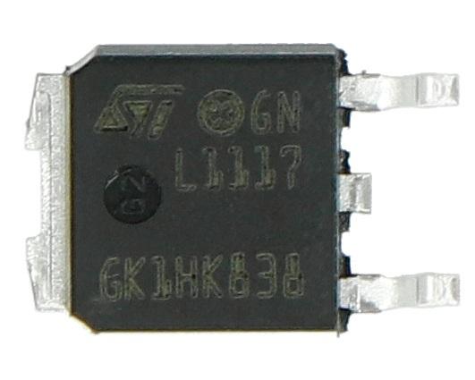 Stabilizator LDO ADJ LM1117