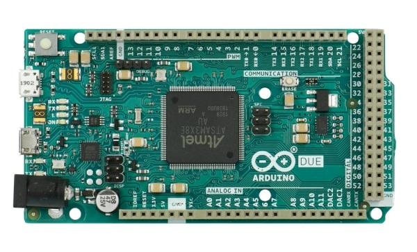 Arduino Due ARM - moduł arduino platforma cortex m3