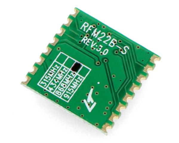 Moduł radiowy 868 MHz