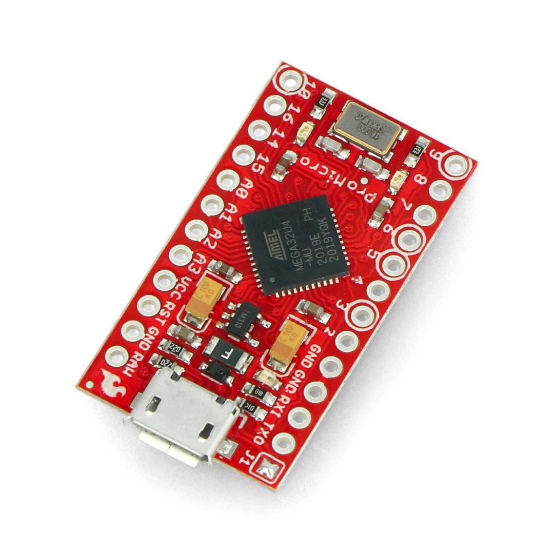 Pro micro 5V/16MHz - SparkFun Arduino