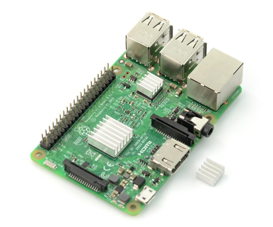Raspberry Pi - radiatory