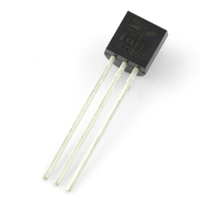 Czujnik temperatury TMP36GT9Z - analogowy THT
