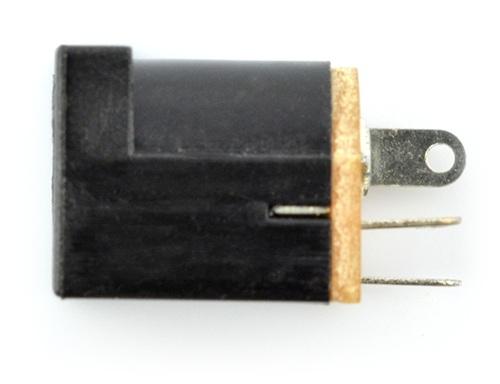 Gniazdo DC 5.5 x 2.1mm do druku - pionowe