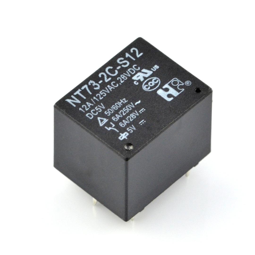 PRzekaźnik NT32-2C-S12 - cewka 5 V