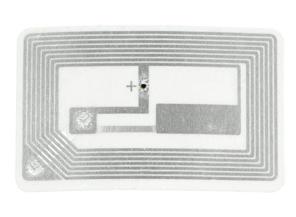Adafruit RFID / NFC MiFare Classic naklejka - 13,56MHz