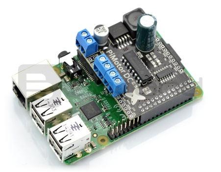 PiMotor - dwukanałowy sterownik silników dla Raspberry Pi