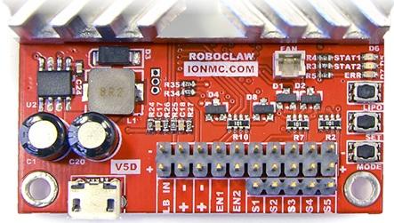 RoboClaw 2x45A USB - dwukanałowy sterownik silników 34V / 45A