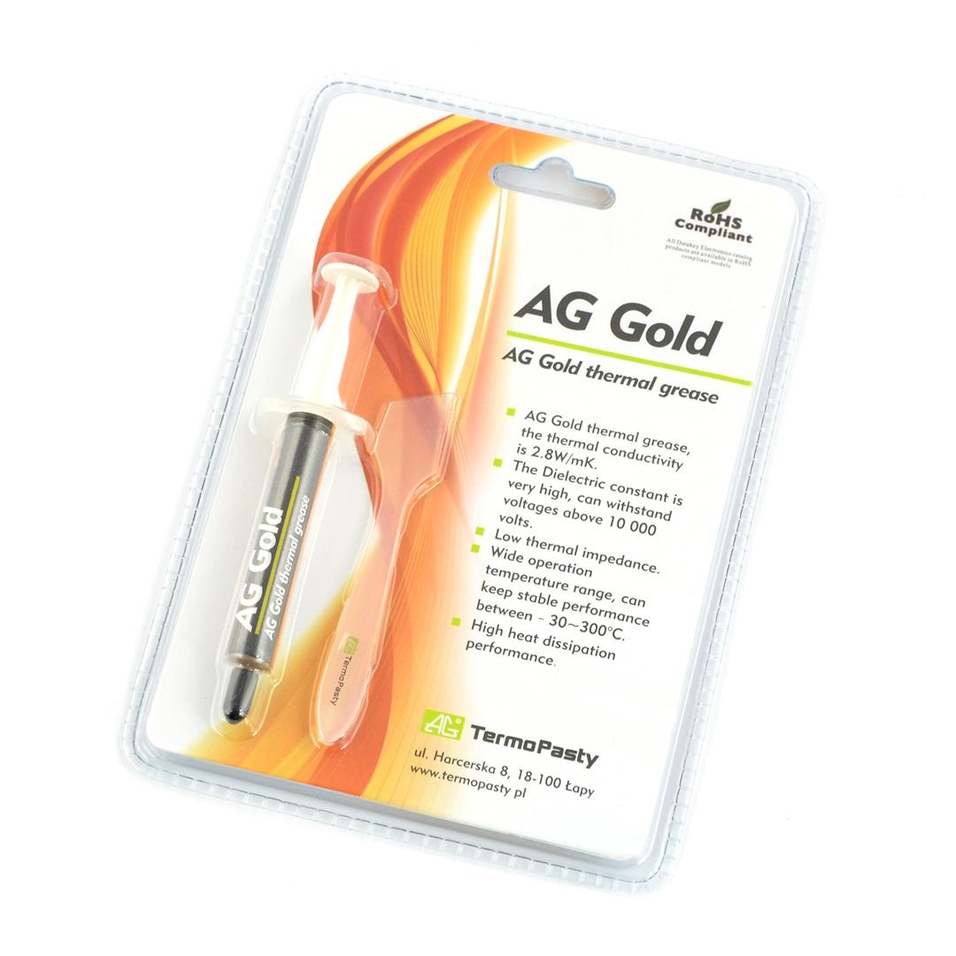 Pasta termoprzewodząca AG Gold