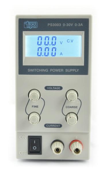 Zasilacz laboratoryjny PS3003 0-30V 3A
