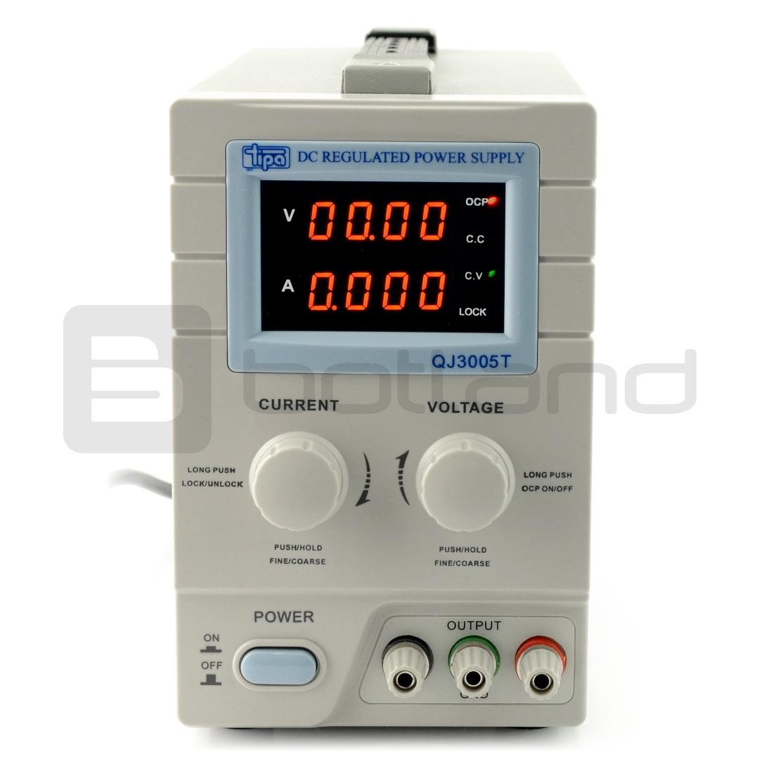 Zasilacz laboratoryjny QJ3005T 0-30V 5A