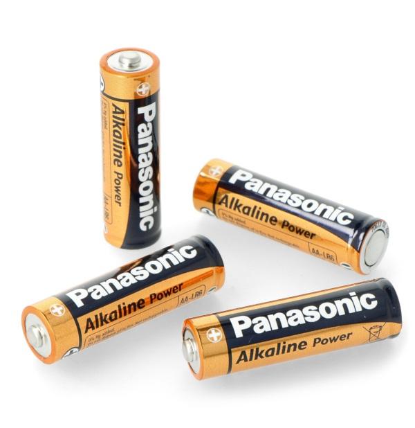 Bateria AA (R6) alkaliczna Panasonic Alkaline Power - 4szt.