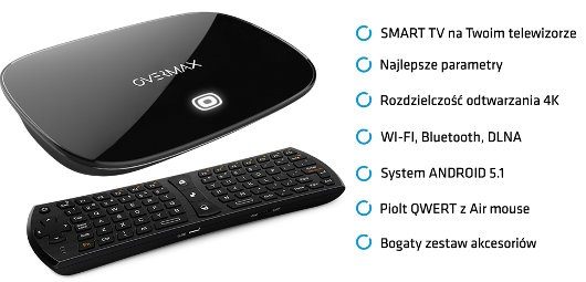 Android 5.1 Smart TV Homebox 4.1