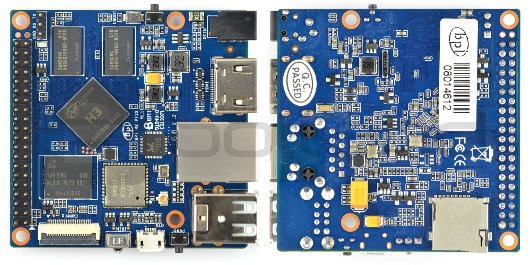 Banana Pi M2+ 1GB RAM Quad Core WiFi