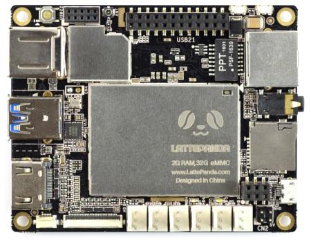 LattePanda 2GB RAM + 32GB EEMC Quad-Core WiFi - Windows 10