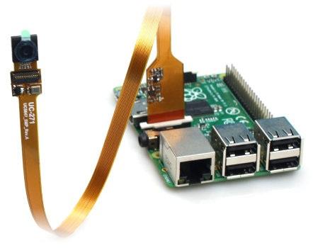 Spy Camera HD 5MPx Flex dla Raspberry Pi