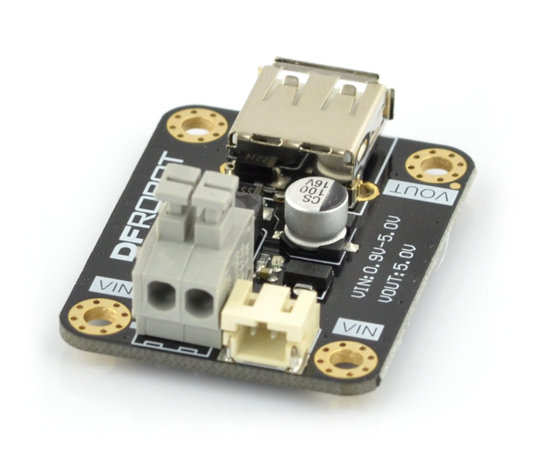 DFRobot FIT0471 - przetwornica step-up boost z wyjściem USB - 0,9-5V 0,6A