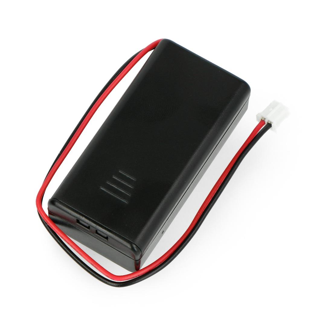 Pojemnik na 2 baterie AAA
