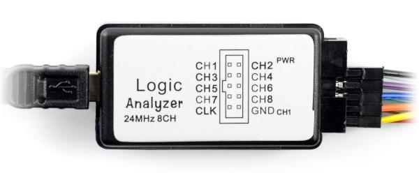 Analizator stanów logicznych USB