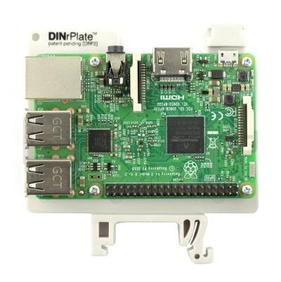 Mocowanie DIN do Raspberry 3
