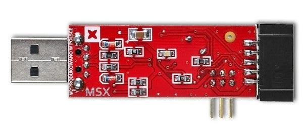 Programator zgodny z USBasp do mikrokontrolerów z rodziny AVR