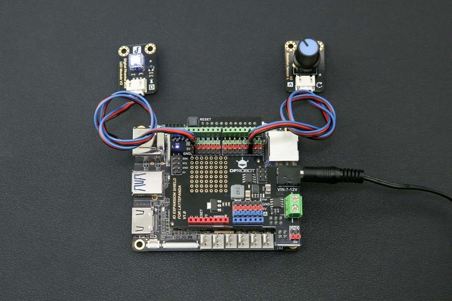 DFRobot Gravity IO Expansion Shield dla LattePanda