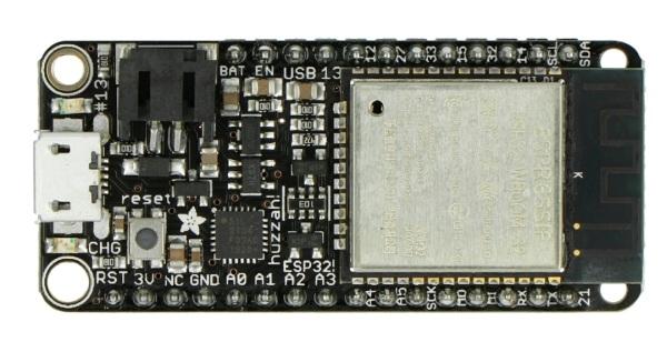 Adafruit Feather Huzzah ESP32- moduł WiFi, Bluetooth GPIO