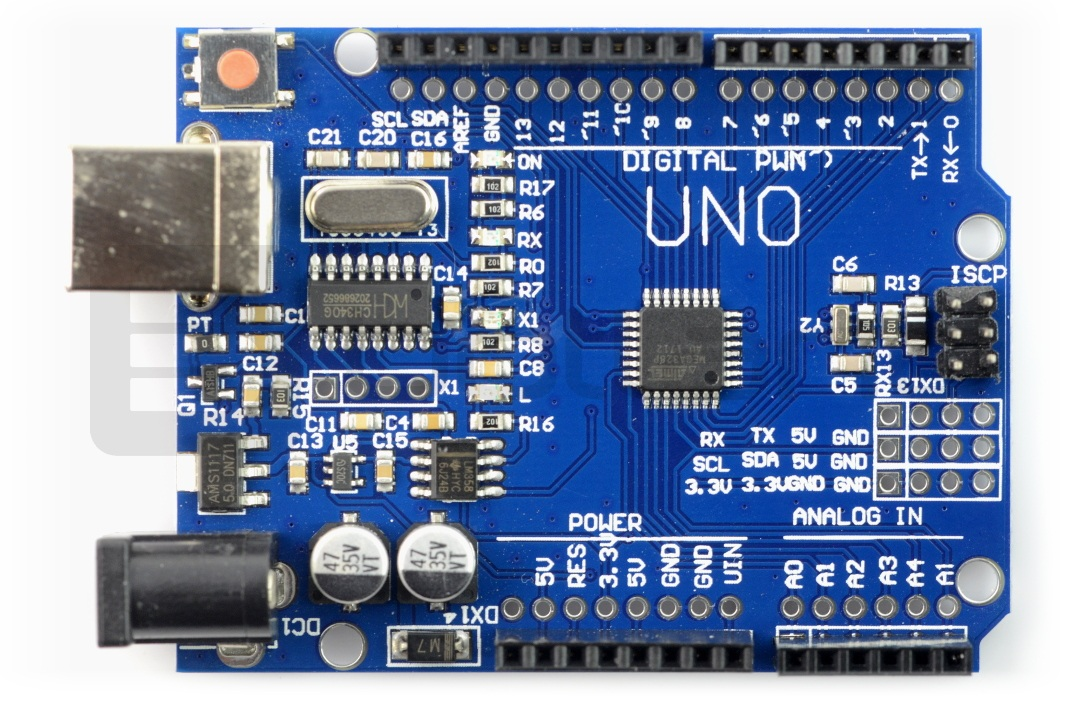 Moduł UNO R3 CH340 kompatybilny z Arduino