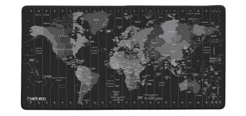 Podkładka pod mysz Natec Time Zone Map Maxi