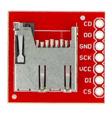 Moduł z czytnikiem kart pamięci SparkFun