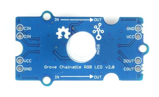 Grove - Chainable RGB LED v2.0 - moduł z diodą RGB