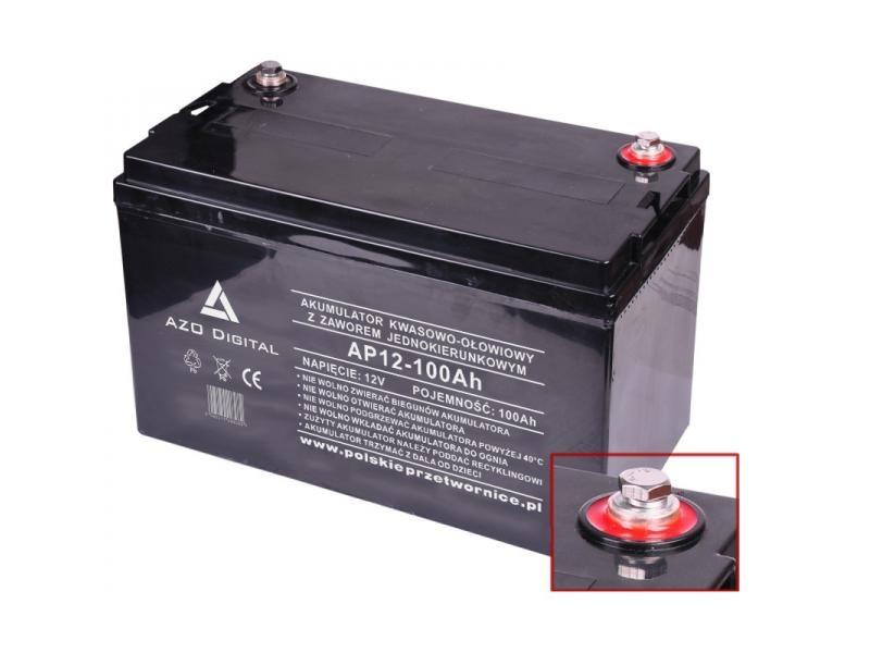 Akumulator AP12-100 100 Ah