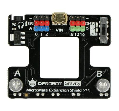 Micro:Mate - płytka rozszerzeń dla micro:bit
