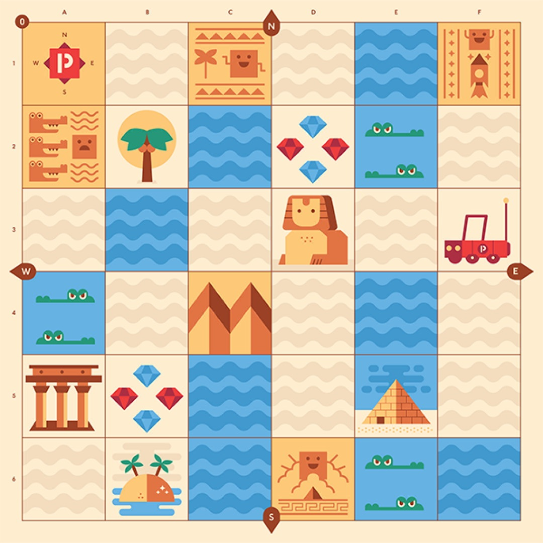 Plansza Egipt