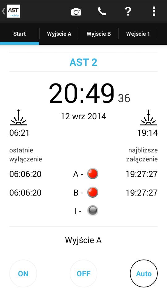 ASTmidi - zegar astronomiczny