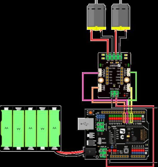 DFRobot Dwukanałowy sterownik silników