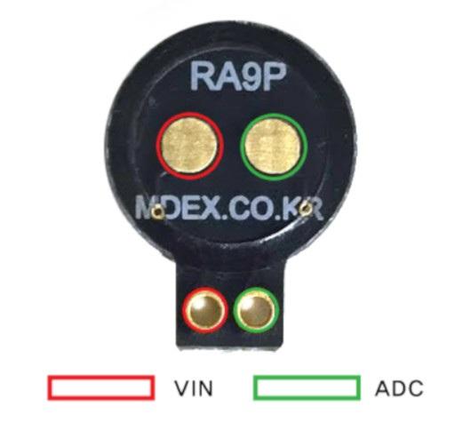 RA9P schemat podłączenia