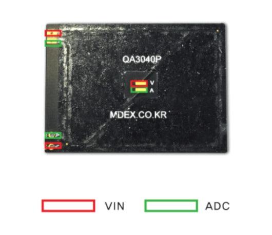 Schemat podłączenia QA3040P