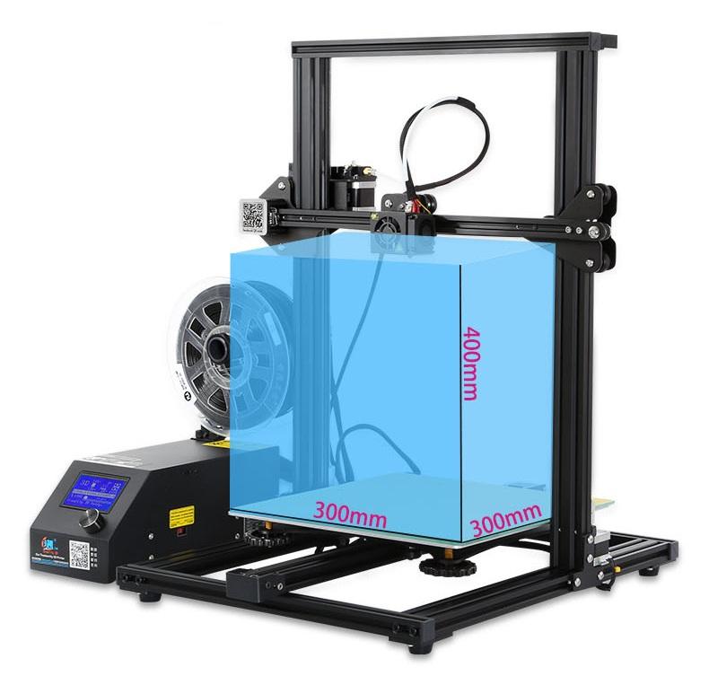 Creality CR-10S drukarka 3D z wyświetlaczem