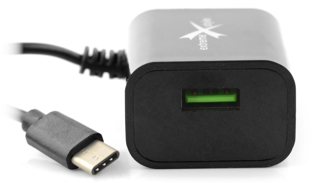 Zasilacz Ampere USB C + USB